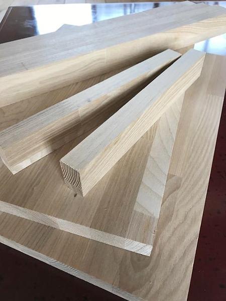 サイズカットされた材料をご用意します。棚作りワークショップ。