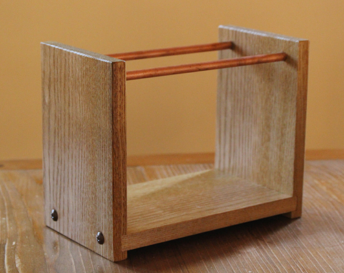 木製コーヒードリッパースタンドを作る