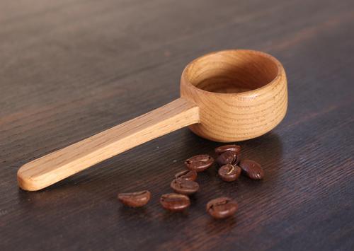 木のコーヒーメジャースプーン
